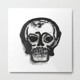 Skull 9 Metal Print