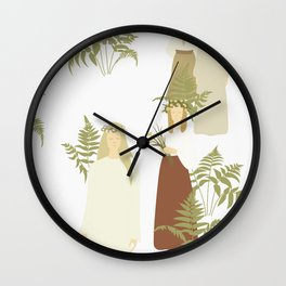 Summer Solstice  Wall Clock
