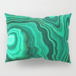 Malachite Texture 10 Pillow Sham