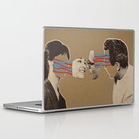 kiss Laptop & iPad Skins featuring Kiss by Canson City