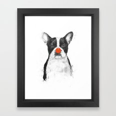 I'm not your clown Framed Art Print