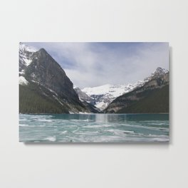 Winter Photography: Lake Louise, Banff, Canada Metal Print