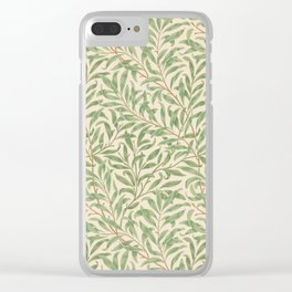 Willow Bough Clear iPhone Case