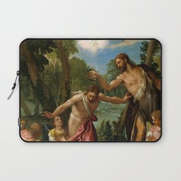 "Veronese (Paolo Caliari) ""The Baptism of Christ"" Laptop Sleeve"
