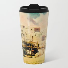 Dreaming of Taos Pueblo Travel Mug