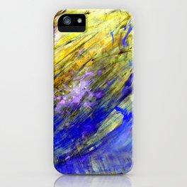 Nature aqua iPhone Case