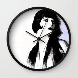 LOUISE BROOKS:  MY LOVE IS ALL I HAVE TO GIVE Wall Clock