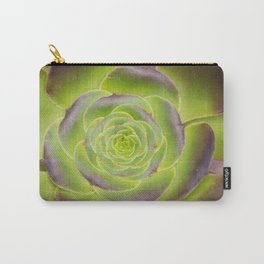 Succulent Glow Carry-All Pouch