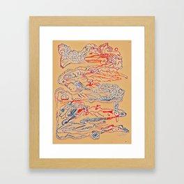Abstract 129C Framed Art Print