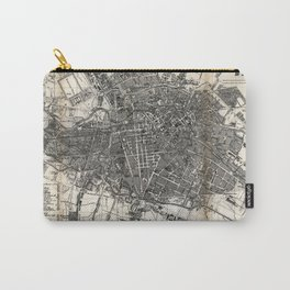 Vintage Map of Berlin Germany (1870) Carry-All Pouch