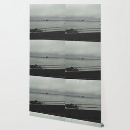Foggy Coast Wallpaper