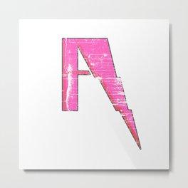 A to Z(iggy) Metal Print