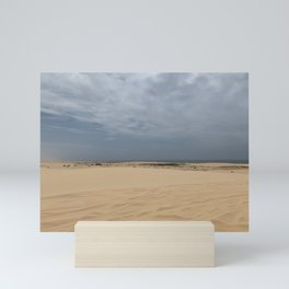 Sand Dunes at Stockton Sand Dunes, Port Stephens, Australia Mini Art Print
