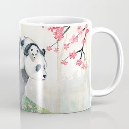Panda family Coffee Mug