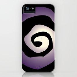 Burtonesque Spiral 2 iPhone Case