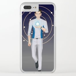 Symbiosis - Scott Ryder Clear iPhone Case