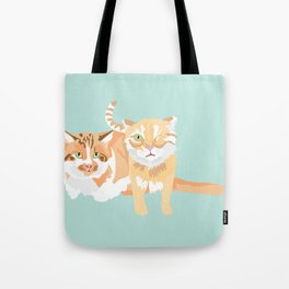 Willie and Ollie Tote Bag