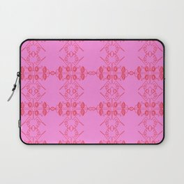 Luxury vint. ornaments Pink ethnic Laptop Sleeve