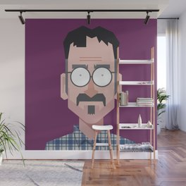 Comics of Comedy: Marc Maron Wall Mural