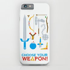 Choose Your Weapon iPhone 6s Slim Case