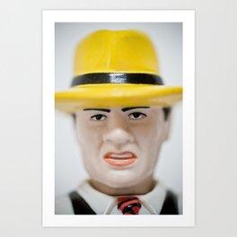 Dick Tracy Art Print