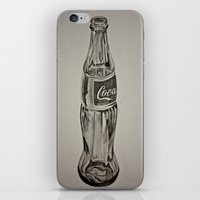 coca cola iPhone & iPod Skins featuring Coca-Cola by Lily Patterson