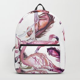 Flocked Backpack