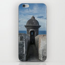 Fortification walls in Puerto Rico iPhone Skin