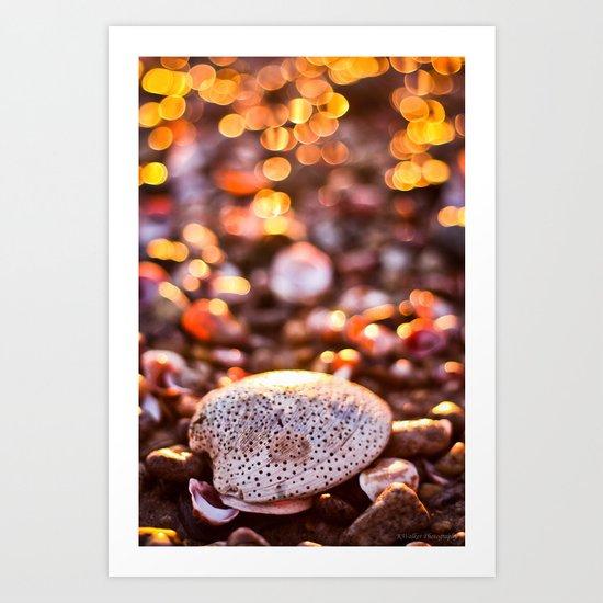 Bokeh Sprinkles Art Print