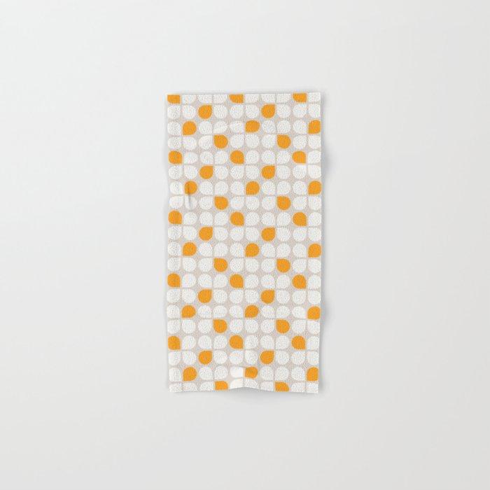 Daisy Crush Floral Pattern Hand & Bath Towel