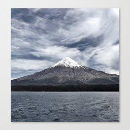 Volcano Osorno Canvas Print
