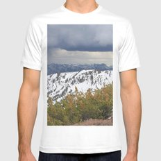 Sonora Peak MEDIUM Mens Fitted Tee White