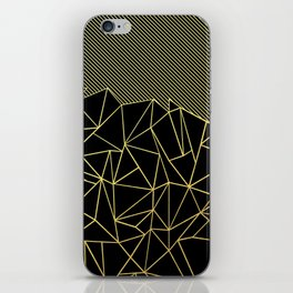 Ab Lines 45 Gold iPhone Skin