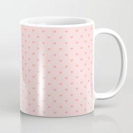 Classic Blush Pink Mini Love Hearts Coffee Mug