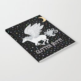 Glitter Butt! Notebook