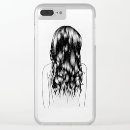 Updo Clear iPhone Case