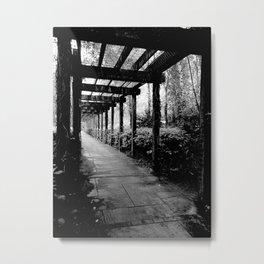 SHADOW V Metal Print