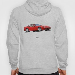 LINE OF THE MARANELLO CAR IN RED Hoody