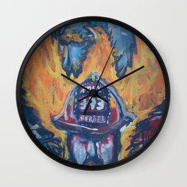 F.D.N.Y. 343 memorial Wall Clock