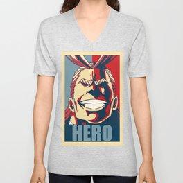Boku no Hero Academia All Might Unisex V-Neck