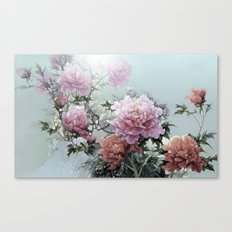 Winter Roses Canvas Print