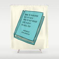 Memoir Shower Curtain