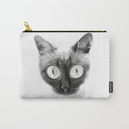 Funny alien cat Carry-All Pouch