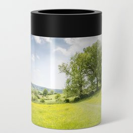 Idyllic Cotswold Summer Landscape Can Cooler