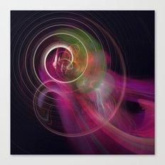 Purplerain Canvas Print