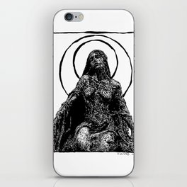 Mourning iPhone Skin