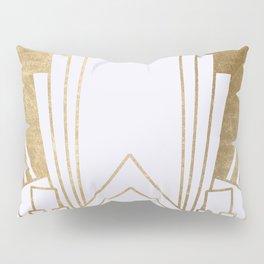 Art Deco design - blonde Pillow Sham