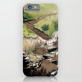 Just a Little Walk in the Woods - BASHers iPhone Case