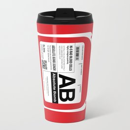 My Blood Type is AB, for Absolute Bomb! Travel Mug