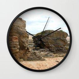 Shaped By The Sea Wall Clock